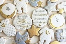 christening biscuits