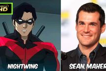 Teen Titans: The Judas Contract Voice Actors #Voices || Porfirios guarding this channel