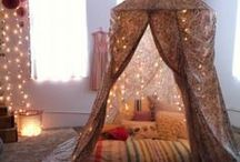 A fairy lives here / Ideas for our daughters room