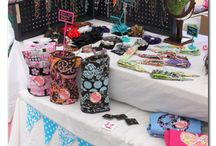 festival booth flare/displays/props / by Jan Dockery