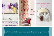 Blog graphics / Interior tips, green tips, interesting facts, home decor so on and so forth.