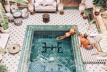 Waterlake swimmingpool