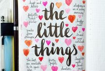 journals: things i love