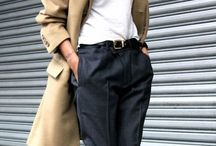 Trench-coat camel