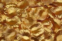 1000 petales de soie or doree,petales de fleurs,decoration table mariage fetes ceremonie