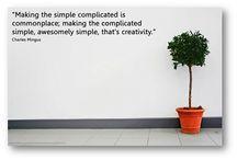 Simplicity / Visuel inspiration til en af de mest grundlæggende værdier bag min business