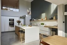 Case study - Light-filled family home / Light-filled family home. Kitchen Architecture - bulthaup b3 and b1 furniture in alpine white and structured oak