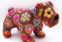 Crochet peluche bimbi