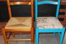 Chaise à repeindre