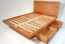Ágyak fából