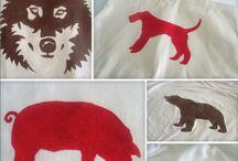 fox,wolf