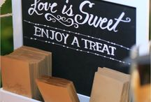 Inspirations: Candy Bar & wedding