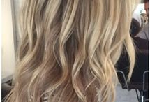 Blonde hair / Honey and ash blonde highlights