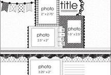 Scrapbook Page Ideas / by Melinda Goertz