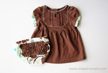 Kids- Children's and baby's Apparel etc / by Jane Wilkinson Tosetti