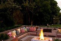 Modern living garden ideas