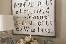 Wild things playroom