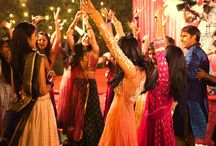 the sangeet affairs!