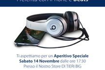 Aperitivo - iPhone + Beats / #iPhone #Beats #Apple