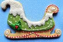 Cookies - Decorated / Iced and embellished roll out cookies