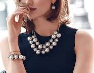 Girlss fashion.... / A statement necklace glams up any outfit without feeling like too much.