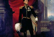 King Miguel I of Portugal / Miguel I (26 October 1802 - 14 November 1866), was the King of Portugal. He was the son of John VI of Portugal and Carlota Joaquina of Spain. Miguel has been married of his wife. Princess Adelaide of Löwenstein-Wertheim-Rosenberg.