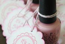 Nail polish / Shower gift idea