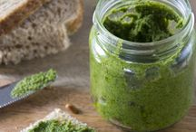 Sauzen / Pesto, homemade