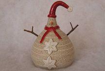 keramika - vánoce