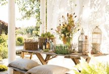 Porches & gardening benches & sheds / by Carla Elliott