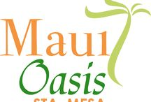 Maui Oasis / A Tropical island-inspired medium rise condominium community. Around 60% of the development dedicated to open spaces, along with resort-inspired amenities and environs to capture the year-round vacation atmosphere.