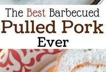 Pullend pork