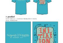 Sigma Kappa / Sigma Kappa custom shirt designs #sigmakappa #sk  For more information on screen printing or to get a proof for your next shirt order, visit www.jcgapparel.com