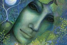 Amanda Jane Clark (Аманда Кларк) / Работы художника-иллюстратора Аманды Кларк,навеянные мифами,сказками и фольклором погружают нас в фантастические миры,прекрасные и незабываемые...