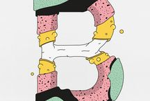 Graphic letters