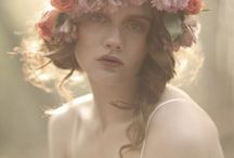 Flower Head bands and crowns