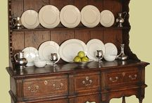 Oak Dressers, Reproduction / Dressers and sideboards in 17th, 18th and 19th century styles. High dressers with racks, Welsh dressers, low dressers, potboard and cabriole leg designs.  - See more at: http://www.earlyoakreproductions.co.uk/furniture/dressers/