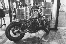 Yamaha Scorpio 2007 custom Bratstyle Bobber / 2015 Project