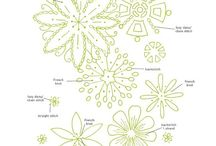 Embroidery patterns / by Rebecca Rockwell
