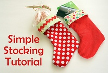 Christmas Stockings / by Melissa Hurdle