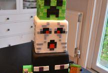 Mine craft cake ideas