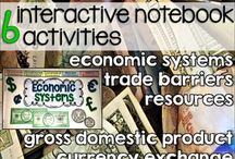 Middle/High School Economics- Brainy Apples / Strategies, lessons, tips, and activities for bringing economics (social studies) to life for the secondary grades (6-12).