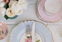 TABLE SETTING | Architempore / Tables - plates - flowers - interiors