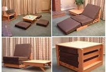 Compact furniture for small houses