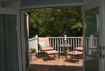 master bedroom deck