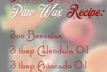 Dog Paw Balm Recipe