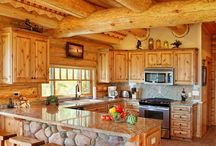 Kitchens / Take a look at some of our favorite kitchens from log homes across the United States