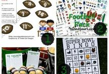 Football Party Ideas - Recipes, Fun Foods, Decorations and Games