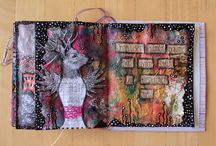 Art Journal Page by *Silkku* / Handmade by me. silkkus.blogspot.fi