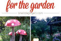 Til dekorere haven